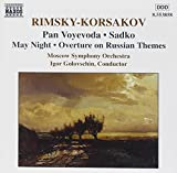 Rimsky-Korsakov: Voyevoda Pan, Sadko, May Night, Overture on Russian Themes