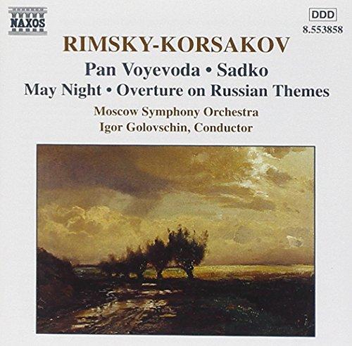 Rimsky-Korsakov: Voyevoda Pan, Sadko, May Night, Overture on Russian Themes
