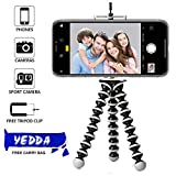 #6: YEDDA Tripod Stand Holder, Mini Gorilla TRIPODS for Mobile DSLR Camera with Phone Attachment and Tripod Bag (10 inch Large)