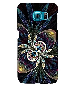 GADGET LOOKS PRINTED BACK COVER FOR SAMSUNG GALAXY S6 EDGE PLUS MULTICOLOUR