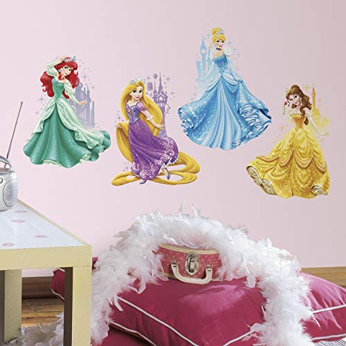RoomMates Disney Princesas Castillos Gigante Pared