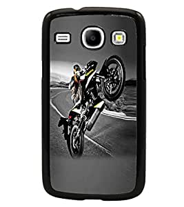 PRINTSWAG STUNT BIKE Designer Back Cover Case for SAMSUNG GALAXY CORE i8262