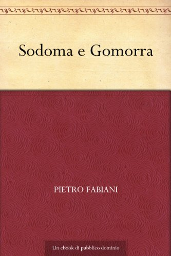 Sodoma e Gomorra (Italian Edition) eBook: Jaf, Docteur, Fabiani ...