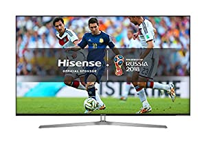 Hisense H50U7AUK 50-Inch 4K UHD Smart TV - Silver/Black