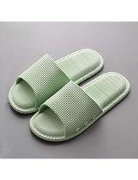 ec3ce3119 LZY Chanclas- Xia Mujer de una Pieza Zapatillas Material de PVC Luz de  plástico Interior Antideslizante Baño Grueso…