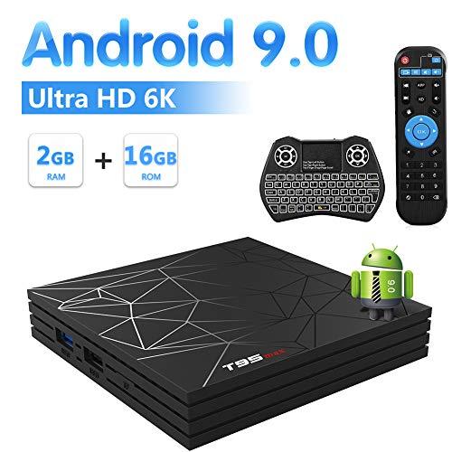Foto Sidiwen Android 9.0 TV Box T95 MAX Set Top Box 2 GB RAM 16 GB ROM Allwinner...