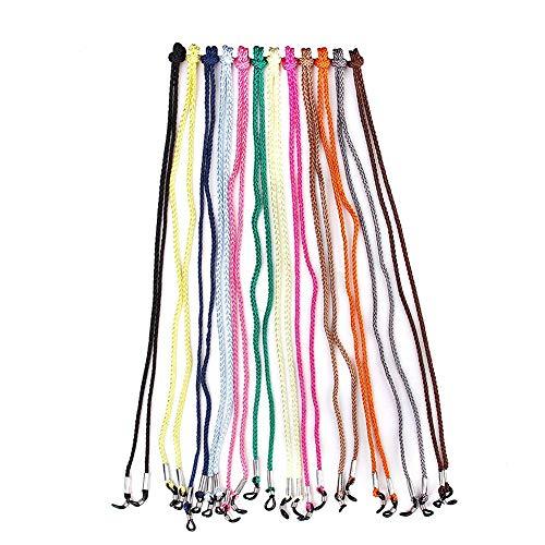 Deanyi 12st Verschiedene Brillen Spectacle Cord Praktische Nylon Brillen Neck Strings Ersatz Sunglass Schnur Halter Bürobedarf