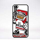 Générique Coque Cigarette Killer Compatible iphone 5s Bord Noir