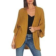 349dc2d3e1205 Malito Mujer Lana-Chaqueta Superior Cardigan Suéter Pullover 0185