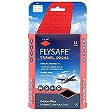 HJ747   Flysafe Compression Travel Socks   DVT Prevention   Cotton Rich Cooling Large   9 - 12 UK   43 - 47 EU