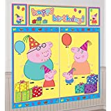 Peppa Pig Scene Setter (5 Total Pieces) by Amscan
