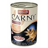 Animonda Carny Kitten mit Kalb & Huhn | 6x 400g Katzenfutter nass