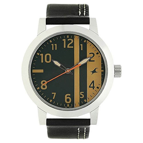 51FbeJ26U7L - 3162SL01 Fastrack Green Boys watch