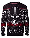 Star Wars Jumpers Darth Vader Knitted Men's Sweater Multicolor-XL