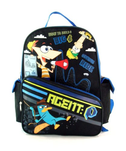 Disney's Phineas and Ferb BackPack Full Size - Phineas and Ferb School Bag Large