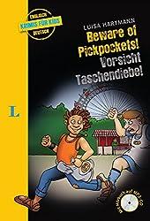 Beware of Pickpockets! - Vorsicht, Taschendiebe! - Buch mit MP3-CD (Englische Krimis für Kids)