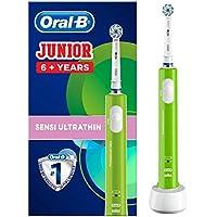 Oral-B Junior Verte Brosse Dents Electrique Rechargeable