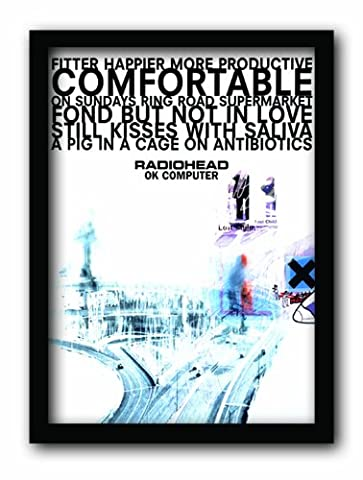 Pyramid International FP10511P-PLRadiohead Ok Computer A3 Framed Print memorabilia affiche