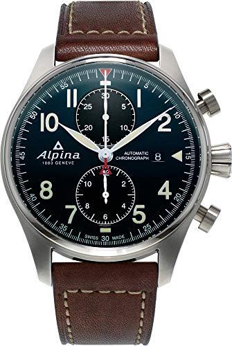 Alpina Geneve STARTIMER PILOT AUTO CHRONO AL-725N4S6 Cronografo uomo Rotore Alpina