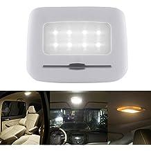 NNIUK luz de noche inalámbrica para coche, sensor de tacto de lectura LED lámpara luces de pared luces - carga USB