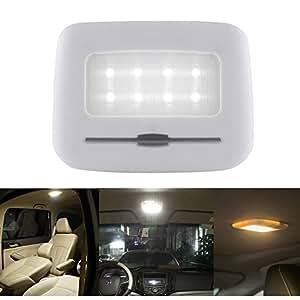Nniuk Wireless Night Light For Car Touch Sensor Reading