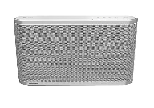 Panasonic SC-ALL8EG-W Wireless Multi-room Lautsprechersystem (Qualcomm AllPlay, Streaming, 80 Watt RMS, 12 cm Subwoofer) weiß - Volle Multi-room