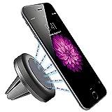 ROAR Handyhalterung Auto Magnet Handyhalter Magnethalter Handy Halterung Magnetisch Magnethalterung Lüftung Lüftungsgitter iPhone 5 5S SE 6 6S 7 8 Plus X Samsung Galaxy S5 Mini S6 S7 Edge S8 S9 Plus Huawei P8 P9 P10 Lite