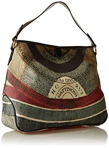 GATTINONI Gacpu0000095, sac bandoulière Multicolore (Classico)
