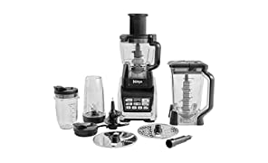 Ninja 1500W Food Processor with Nutri Ninja and Auto-iQ - BL682UK2 (with Chute)