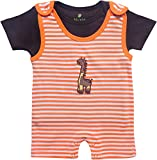 BIO KID Baby Boys' Clothing Set (BTI-197-62, Multicolour, 0-3 m)