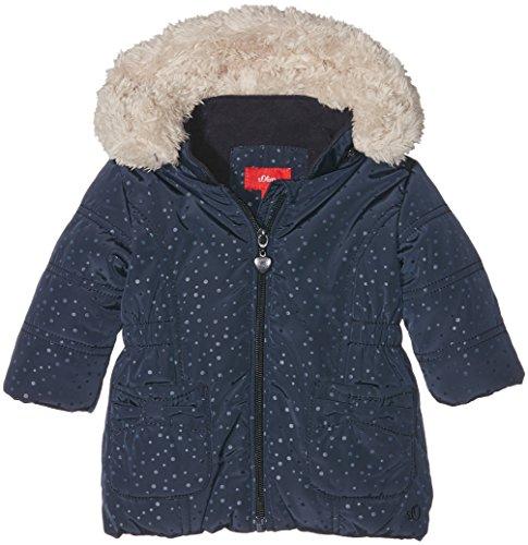 s.Oliver Unisex Baby Mantel 59.610.52.5525, Blau (Blue Aop 58A4), 86