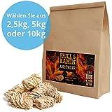 5 kg (ca. 400 Stück) Bioanzünder, Grillanzünder, Holzwolle und Wachs - Marke: Panorama24