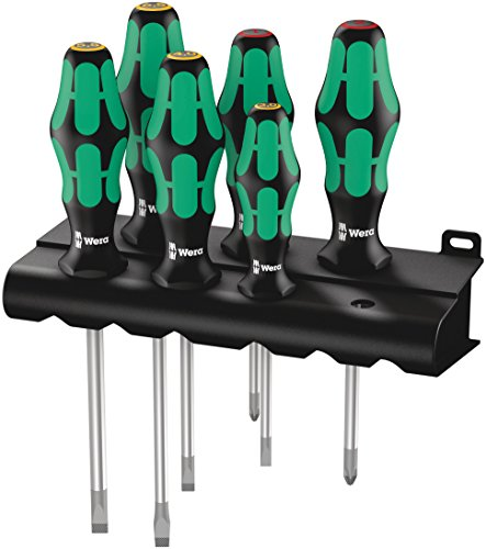 334/6 Rack Assortimento di giraviti Kraftform Plus Lasertip + rack, 6 pezzi