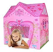 Questa bella tenda da gioco è perfetta per tutte le piccole Principesse. Educativo e stimola l'immaginazione. Facile assemblato e riposto. Adatta all'uso in casa e all'aperto.