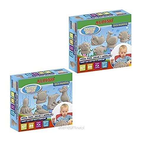 Alpino 949757 Magic Dough Sandy Clay