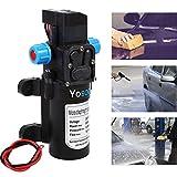 hoher Druck Wasser Pumpe, 12 V DC Druckschalter Control Valve Automatic Diaphragm selbstansaugend Wasser Pumpe 5Lpm 60 W für Wohnmobil-CARAVAN Boot Auto
