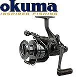 Okuma Longbow XT Baitfeeder 640- 240m 0,25mm Freilaufrolle , Angelrolle mit Freilauf, Rollen mit Freilauffunktion, Angelrollen zum Karpfenangeln, Zanderangeln, Aalangeln, Hechtangeln, Forellenangeln