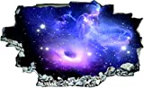 Planet Sterne Weltall All Galaxy Wandtattoo Wandsticker Wandaufkleber C0218 Größe 60 cm x 90 cm