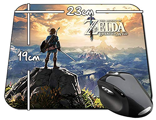 The Legend Of Zelda Breath Of The Wild Tapis De Souris Mousepad PC
