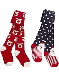 Zest Girls Cotton Rich Festive Design Tights