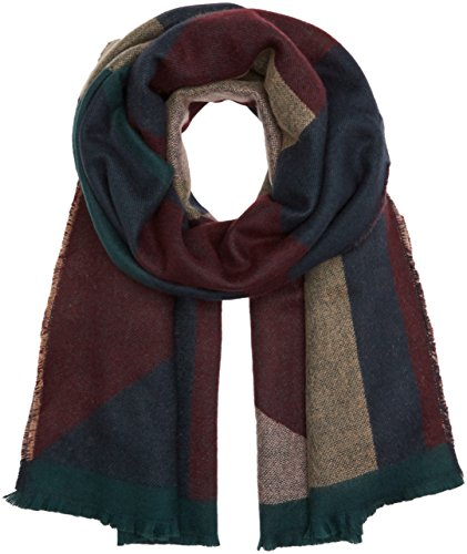 PIECES Damen Schal Pcjappa Long Scarf Mehrfarbig (Port Royale), One Size (Port Schal)