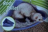 Rody-Toilette für Frettchen und andere Nager, 36x28x15cm