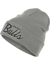Mitchell & Ness Cuff Knit Mütze - CHICAGO BULLS - Grey
