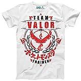Photo de Kanto Factory T-Shirt Pokémon GO Team Valor/Bravoure, Equipe Rouge représenté par Sulfura/Moltres par Kanto Factory