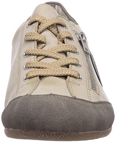 Rieker - L9044, Scarpe da ginnastica Donna Bianco (Staub/offwhite/staub / 42)