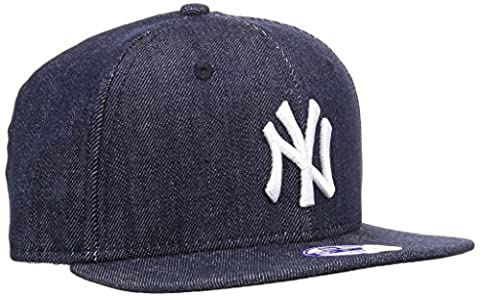 New Era Cap K Denim Base 9Fifty Neyyan, Navy/White, One size, 11066059