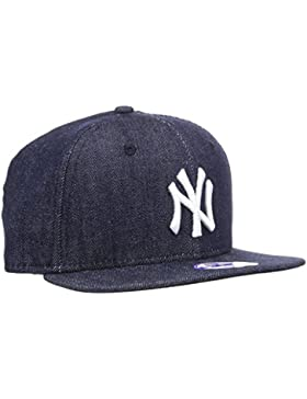 New Era Jungen, Kappe, KIDS DENIM BASIC 9FIFTY NEYYAN NAVY/WHITE