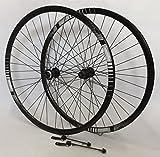 Vuelta 28 Zoll Fahrrad Laufradsatz 622x17 Trekking Sportrad schwarz - Alivio 4050 schwarz - Niro schwarz. 36 Loch DISC
