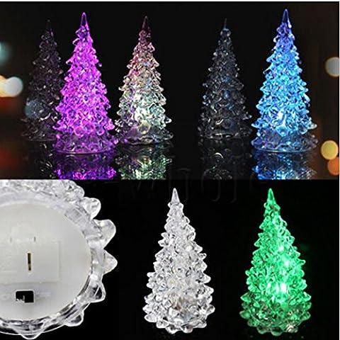 Generic Eis Farbe ändern Christmas Tree Dekoration Licht Lampe Xmas Nacht für verschiedene Gelegenheiten Ausschreibung LED Licht, nicht allzu hell zu stören schlafen hohe Helligkeit, geringe Leistungsaufnahme