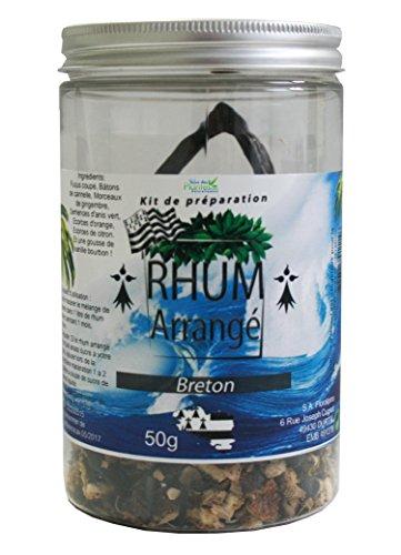 kit rhum arrangé Breton 50g